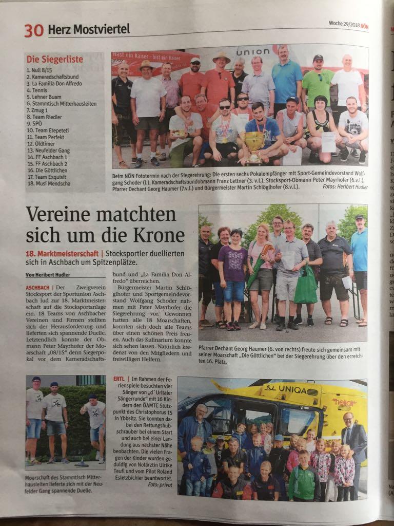 Startseite | Sportunion Aschbach Stocksport